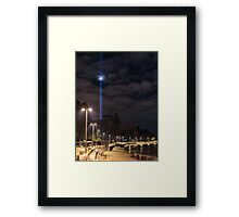 Long Beach Spectra Framed Print