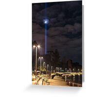 Long Beach Spectra Greeting Card