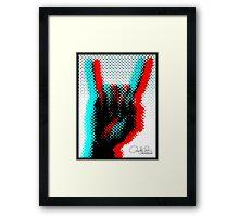 Pop Rock Framed Print