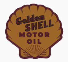 Golden Shell Motor Oil by justicious