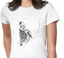 Remake by Toulouse Lautrec II Womens Fitted T-Shirt