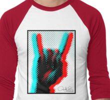 Pop Rock Men's Baseball ¾ T-Shirt