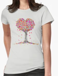 Love in the Fall Womens T-Shirt