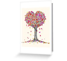 Love in the Fall Greeting Card