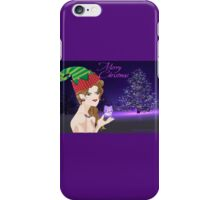 A Christmas elf ( 2096 Views) iPhone Case/Skin