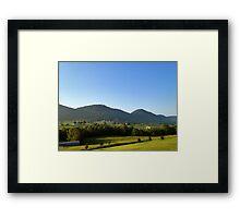 Tennessee Valley Sunrise Framed Print