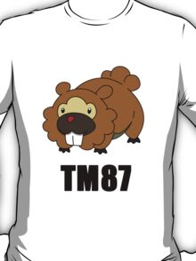Bidoof Swagger (No Glasses) T-Shirt