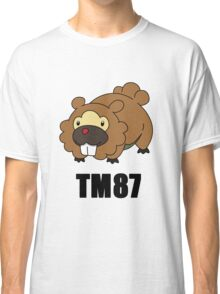 Bidoof Swagger (No Glasses) Classic T-Shirt