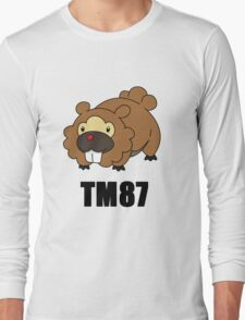 Bidoof Swagger (No Glasses) Long Sleeve T-Shirt