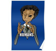 Humans... Poster