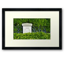 Strong Hold Framed Print
