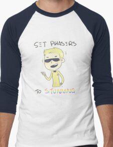 [enterprising young men plays in the distance] Men's Baseball ¾ T-Shirt