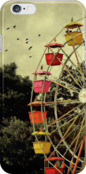 A day at the fair - iPhone skin by Scott Mitchell