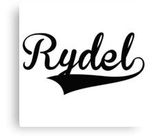 Baseball Style Rydel Canvas Print
