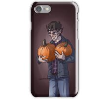 Will and pumpkins  iPhone Case/Skin