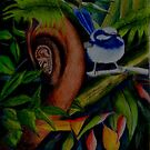 Rainforest Twitter by Sandra  Sengstock-Miller