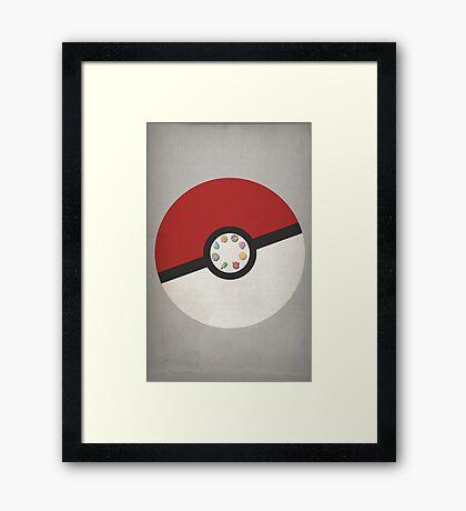 Pokemon Master Framed Print