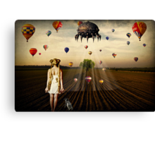 We're Not In Kansas Anymore... Canvas Print