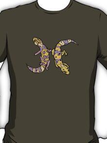 """Zodiac Leopard Geckos -- """"Pisces"""" T-Shirt"""