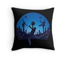 STEP IN TIME Throw Pillow