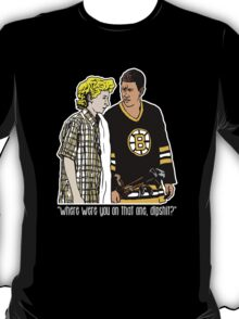 "Happy Gilmore - ""Where were you"" T-Shirt"