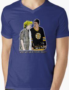 """Happy Gilmore - """"Where were you"""" Mens V-Neck T-Shirt"""