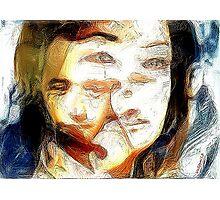 Emotional indecision Photographic Print