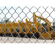 Excavators Photographic Print