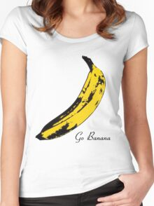 Go Banana Women's Fitted Scoop T-Shirt