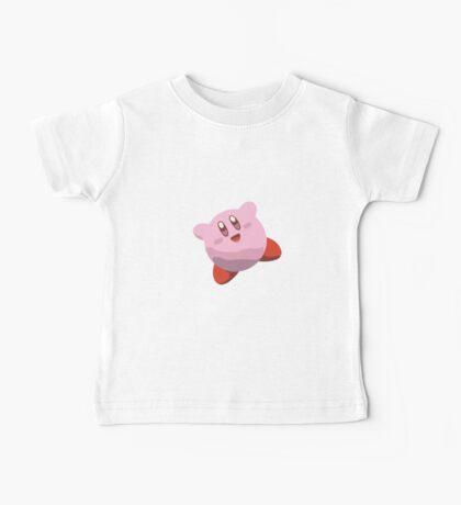 Minimalist Kirby from Super Smash Bros. Brawl Baby Tee