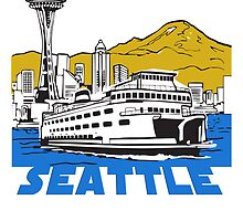 City of Seattle in U.S. state of Washington. by nadil
