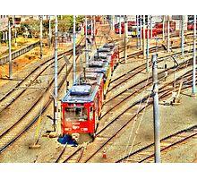 Metro Yard Photographic Print