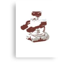 Minimalist R.O.B. from Super Smash Bros. Brawl Canvas Print