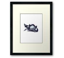 Minimalist Meta Knight from Super Smash Bros. Brawl Framed Print