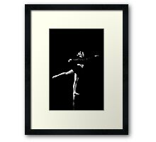 Raw Dance Two Framed Print