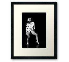 Raw Dance Three Framed Print