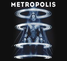 Metropolis Sci Fi Movie by comastar