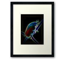 ©BSP Beetle Paintography Framed Print