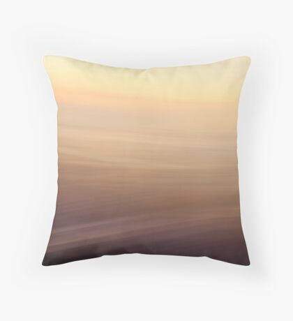 Brown Yellow Throw Pillow