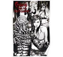 Cthulhu from the Black Lagoon Poster