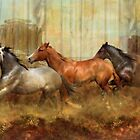 Mustang Alley by Trudi's Images