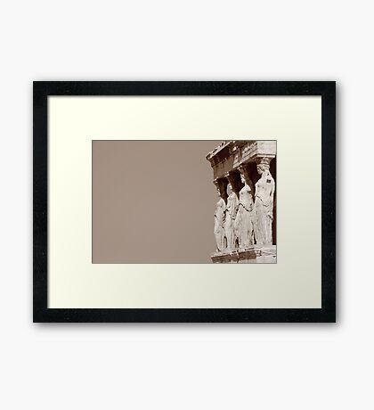 columnas-Architecture Framed Print