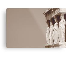 columnas-Architecture Metal Print