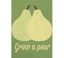 Grow A Pear Photographic Print