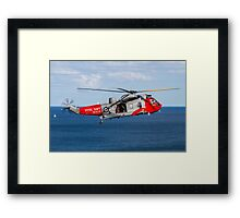 Royal Navy Sea King 771 Squadron Framed Print