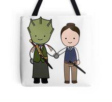 Vastra & Jenny Kawaii Cartoon Design Tote Bag