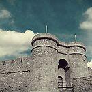 castle with clouds by dedakota
