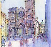 S. Lorenzo a Genova by Luca Massone  disegni