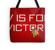 V is for Victory Tote Bag