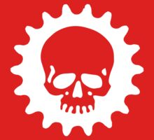 Cog and Skull - Phantom Rider (dark) by PaulHamon